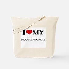 I love my Kooikerhondje Tote Bag