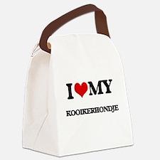 I love my Kooikerhondje Canvas Lunch Bag