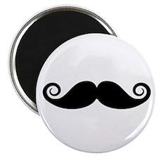 "Cute Mustache 2.25"" Magnet (10 pack)"