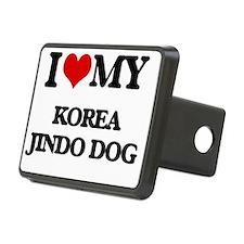Cute Jindo Hitch Cover