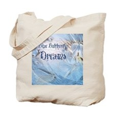 Blue Butterfly Dreams Tote Bag