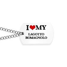 Cute Lagotto romagnolo Dog Tags