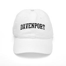 DAVENPORT (curve-black) Baseball Cap