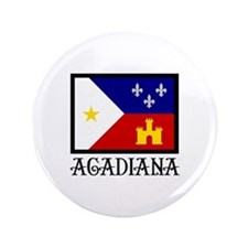 """ACADIANA 3.5"""" Button (100 pack)"""