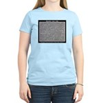 UFO PETROGLYPH Women's Light T-Shirt