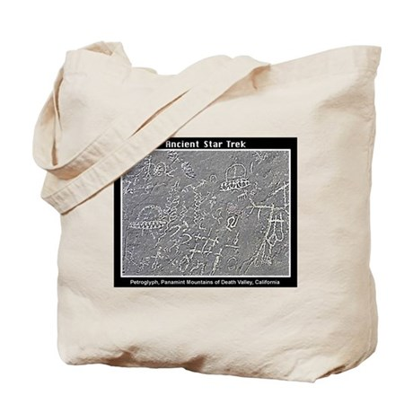 UFO PETROGLYPH Tote Bag