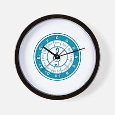 Circle_of_5th Wall Clock
