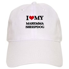 I love my Maremma Sheepdog Baseball Cap
