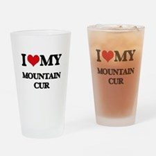 I love my Mountain Cur Drinking Glass