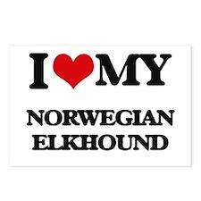 I love my Norwegian Elkho Postcards (Package of 8)