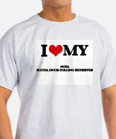 I love my Nova Scotia Duck-Tolling Retriev T-Shirt