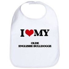 I love my Olde Englishe Bulldogge Bib