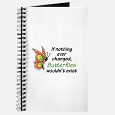 IF NOTHING CHANGED Journal
