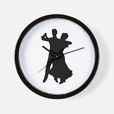 BALLROOM DANCERS Wall Clock