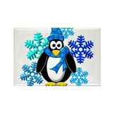 Christmas penguins snowflakes 100 Pack