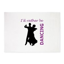 RATHER BE DANCING 5'x7'Area Rug