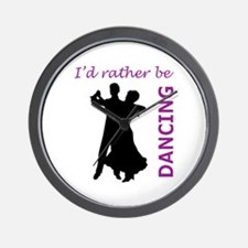 RATHER BE DANCING Wall Clock