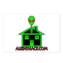 AlienShack Logo Postcards (Package of 8)