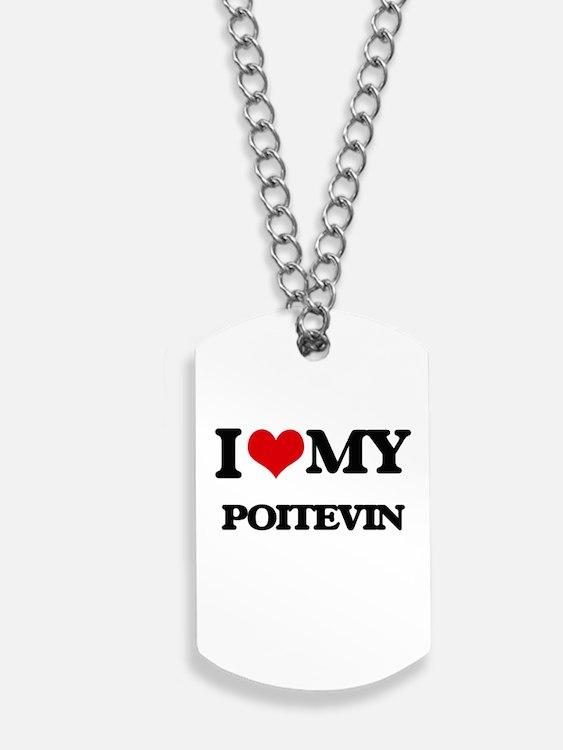 I love my Poitevin Dog Tags