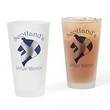 Scotland's Littlest Warrior Drinking Glass