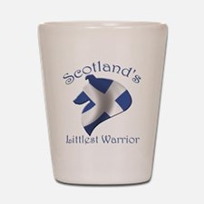 Scotland's Littlest Warrior Shot Glass