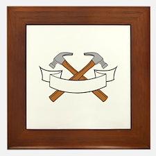 HAMMERS NAMEDROP Framed Tile