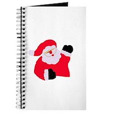 Santa Waving Journal