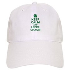 Keep calm and Leprechaun Baseball Cap