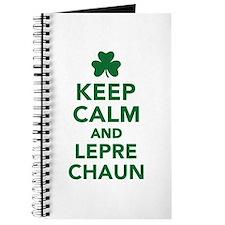 Keep calm and Leprechaun Journal