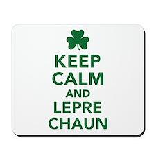 Keep calm and Leprechaun Mousepad