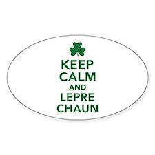 Keep calm and Leprechaun Decal