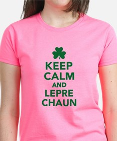 Keep calm and Leprechaun Tee