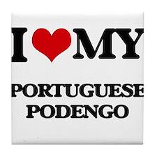 I love my Portuguese Podengo Tile Coaster