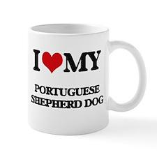 I love my Portuguese Shepherd Dog Mugs