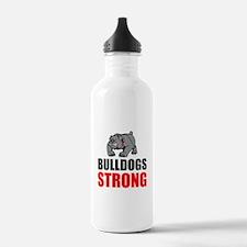 Bulldogs Strong Water Bottle