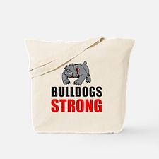 Bulldogs Strong Tote Bag
