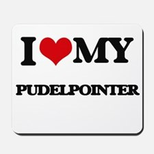 I love my Pudelpointer Mousepad