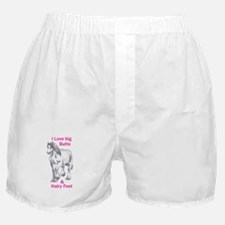 I LOVE BIG BUTTS Boxer Shorts
