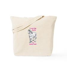 I LOVE BIG BUTTS Tote Bag