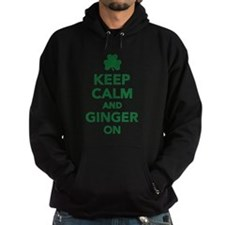 Keep calm and ginger on Hoodie