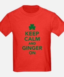 Keep calm and ginger on T