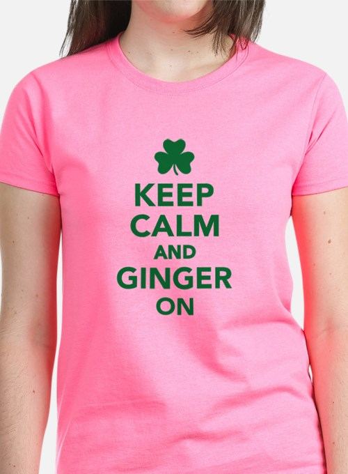 Keep calm and ginger on Tee