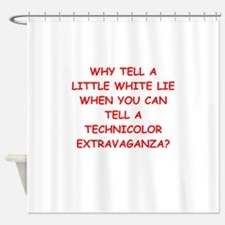 lying Shower Curtain
