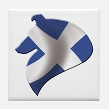 Scotland's Littlest Warrior Tile Coaster