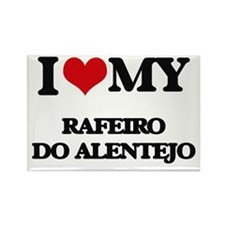 I love my Rafeiro Do Alentejo Magnets