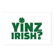 Yinz irish Postcards (Package of 8)