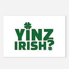 Yinz irish Postcards (Package of 8)