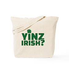 Yinz irish Tote Bag