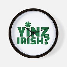Yinz irish Wall Clock