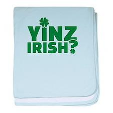 Yinz irish baby blanket